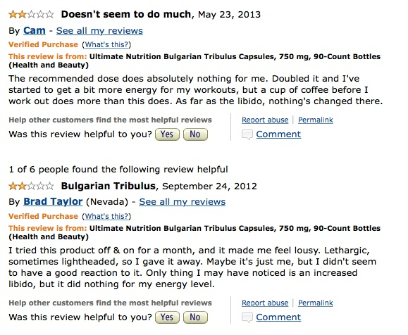 Amazon_com1__Customer_Reviews__Ultimate_Nutrition_Bulgarian_Tribulus_Capsules__750_mg__90-Count_Bottles